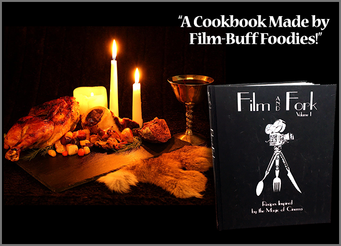 Film And Fork Cookbook Available on amazon.com